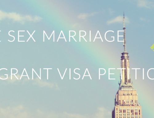 Same Sex Marriage And Immigrant Visa Petitions