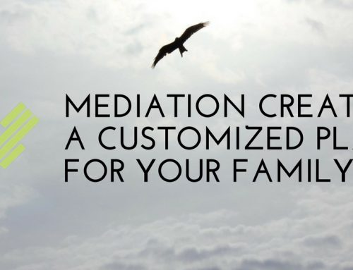 Mediation Creates a Customized Plan For Your Family