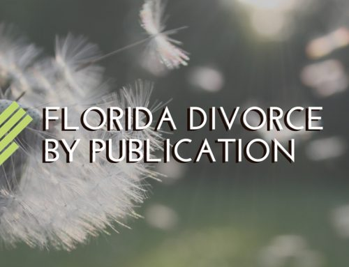 Florida Divorce by Publication