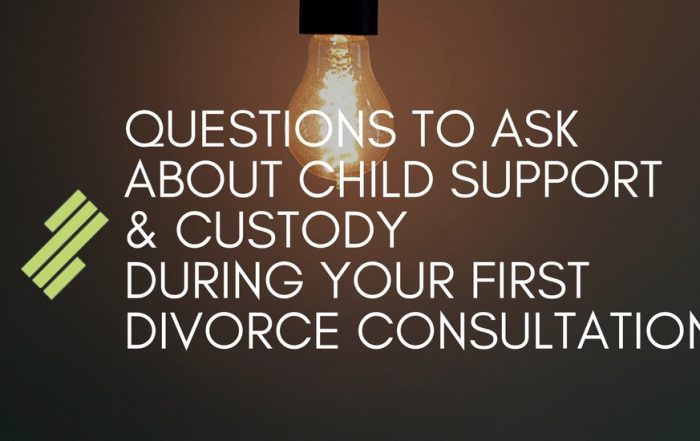 Important Things to Ask About Child Support & Custody During the First Consultation