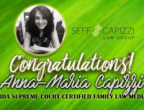 Congratulations Anna-Maria Capizzi, Florida Supreme Court Family Mediator