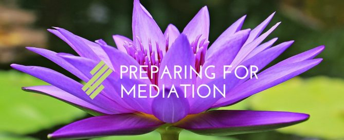 Preparing For Mediation
