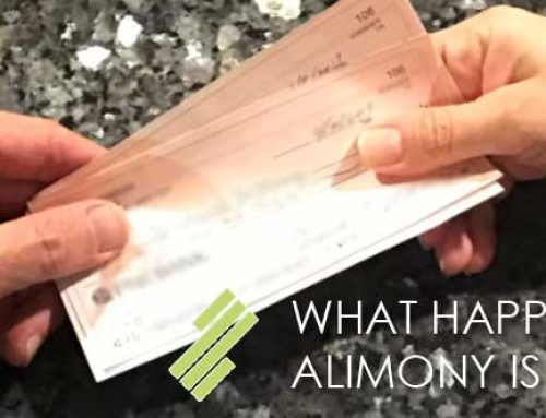 WHAT HAPPENS AFTER ALIMONY IS GRANTED