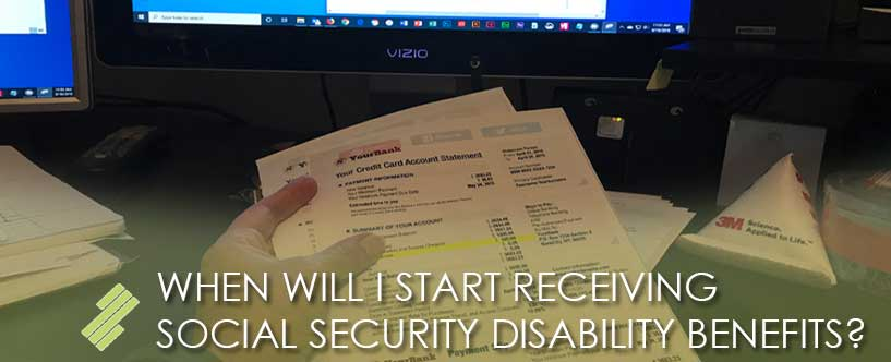 HOW LONG DO I HAVE TO WAIT FOR A SOCIAL SECURITY DISABILITY