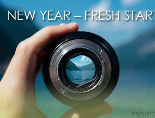 NEW YEAR – FRESH START